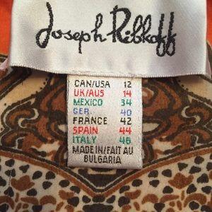 Joseph Ribkoff Tops - ⭐️JOSEPH RIBKOFF TOP BLOUSE BOHO PEASANT SHEER 12